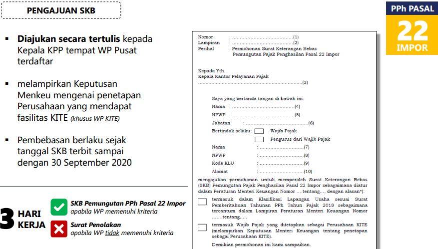 PPh 22 impor dibebaskan