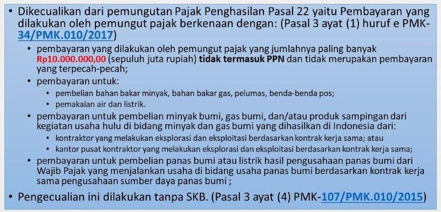 Pemungutan PPh Pasal 22 oleh BUMN